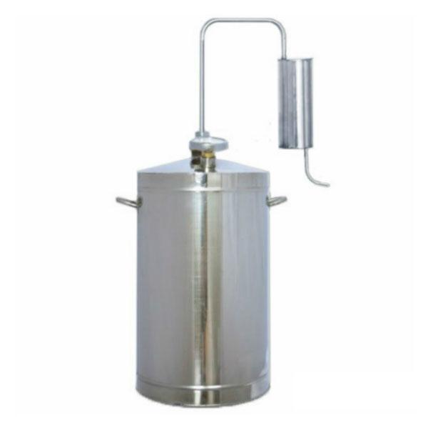 Первач Эконом 16Т домашний дистиллятор, 16 лД Дачно-Деревенский 16ТКуб, охладитель, клапан контроля избыточного давления, термометр