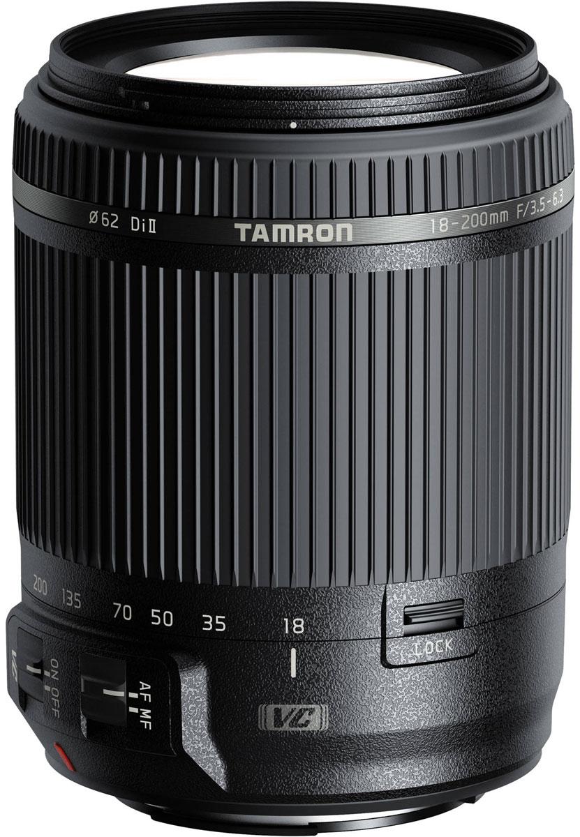 Tamron 18-200mm F/3.5-6.3 DI II VC, Black объектив для Canon