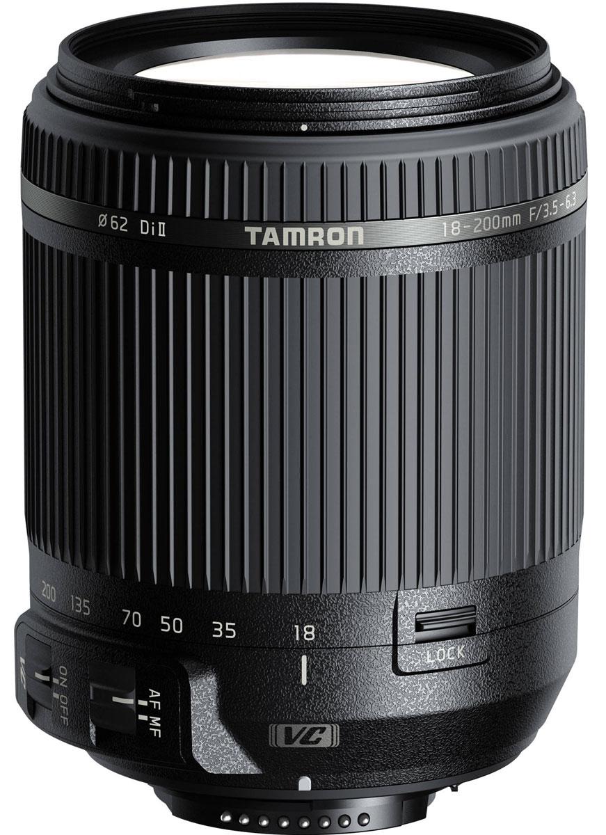Tamron 18-200mm F/3.5-6.3 DI II VC, Black объектив для Nikon B018N