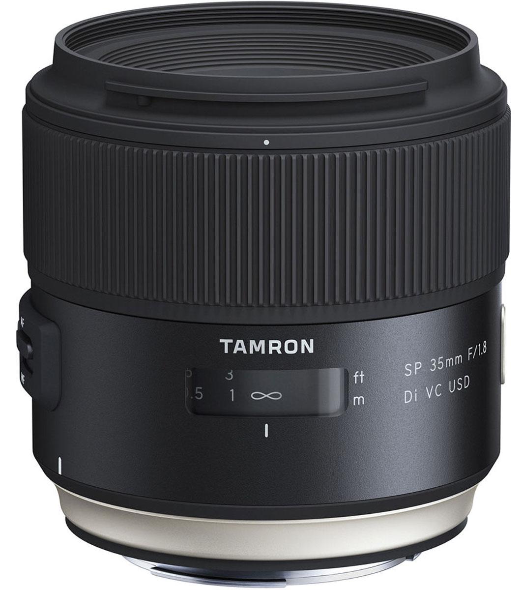 Tamron SP 35mm F/1.8 DI VC USD, Black объектив для Canon