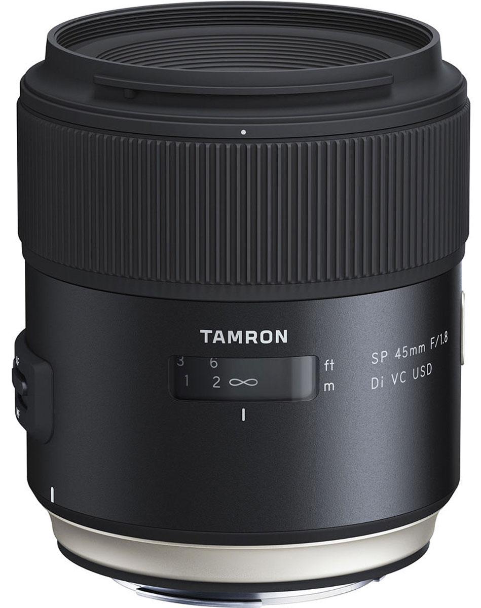 Tamron SP 45mm F/1.8 DI VC USD, Black объектив для Canon