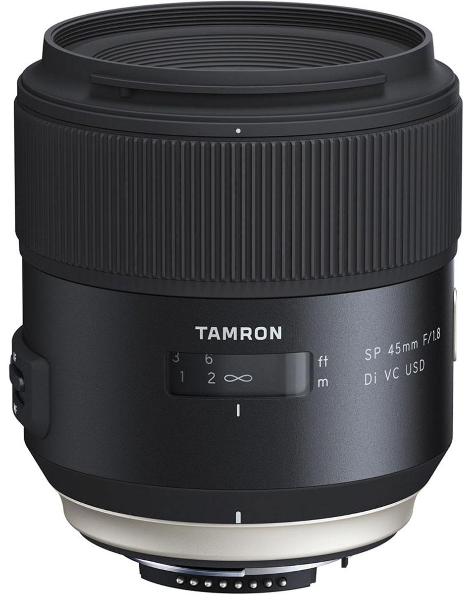 Tamron SP 45mm F/1.8 DI VC USD, Black объектив для Nikon