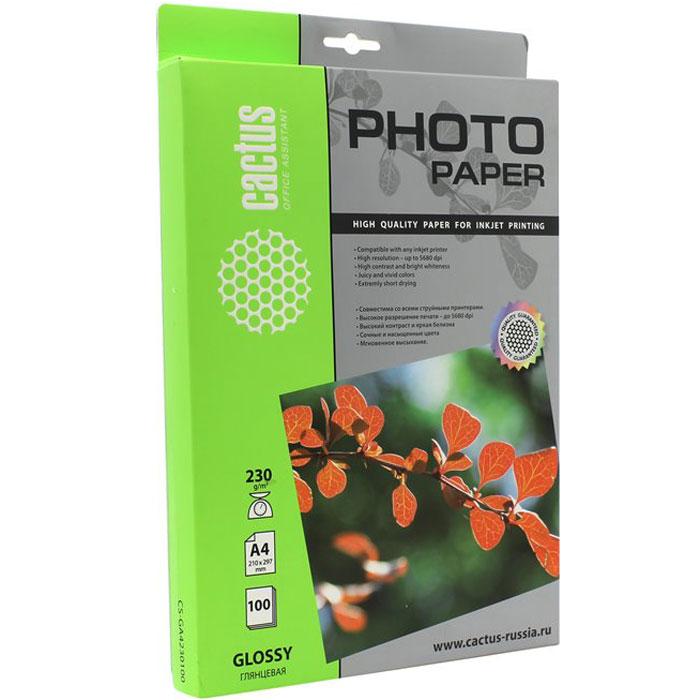 Cactus CS-GA4230100 глянцевая фотобумагаCS-GA4230100Глянцевая фотобумага Cactus CS-GA4230100. Запечатлевайте лучшие мгновения вашей жизни в сочных и насыщенных цветах. Представляйте яркие и красочные презентации. Наслаждайтесь отпечатками высочайшего качества. Глянцевая фотобумага Cactus представляет собой оптимальное сочетание цены и качества. Она отлично подходит для печати памятных фотографий в фоторамку или фотоальбом. Обладая приятным глянцевым блеском, она украсит ваши фотографии и презентации. А высококлассное покрытие позволит добиться максимально точной цветопередачи, что будет полезно при печати макетов и web-графики. Предназначена только для струйных принтеров.