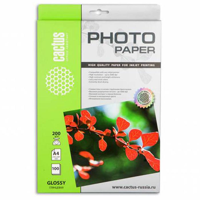 Cactus CS-GA4200100 глянцевая фотобумагаCS-GA4200100Глянцевая фотобумага Cactus CS-GA4200100. Запечатлевайте лучшие мгновения вашей жизни в сочных и насыщенных цветах. Представляйте яркие и красочные презентации. Наслаждайтесь отпечатками высочайшего качества. Глянцевая фотобумага Cactus представляет собой оптимальное сочетание цены и качества. Она отлично подходит для печати памятных фотографий в фоторамку или фотоальбом. Обладая приятным глянцевым блеском, она украсит ваши фотографии и презентации. А высококлассное покрытие позволит добиться максимально точной цветопередачи, что будет полезно при печати макетов и web-графики. Предназначена только для струйных принтеров.