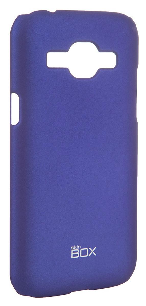Skinbox 4People чехол для Samsung J1 3G DS, BlueT-S-SJ13G-002Чехол - накладка Skinbox 4People для Samsung J1 3G DS бережно и надежно защитит ваш смартфон от пыли, грязи, царапин и других повреждений. Чехол оставляет свободным доступ ко всем разъемам и кнопкам устройства. В комплект также входит защитная пленка на экран.