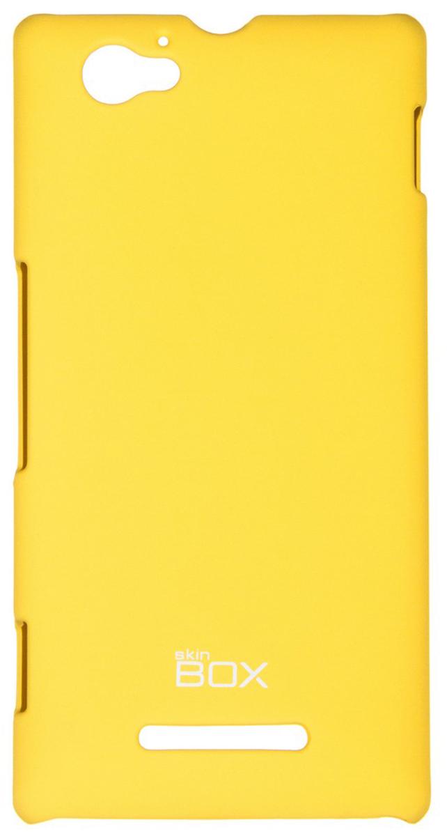 Skinbox 4People чехол для Sony Xperia M/M Dual, YellowT-S-SXM-002Чехол - накладка Skinbox 4People для Sony Xperia M/M Dual бережно и надежно защитит ваш смартфон от пыли, грязи, царапин и других повреждений. Чехол оставляет свободным доступ ко всем разъемам и кнопкам устройства. В комплект также входит защитная пленка на экран.