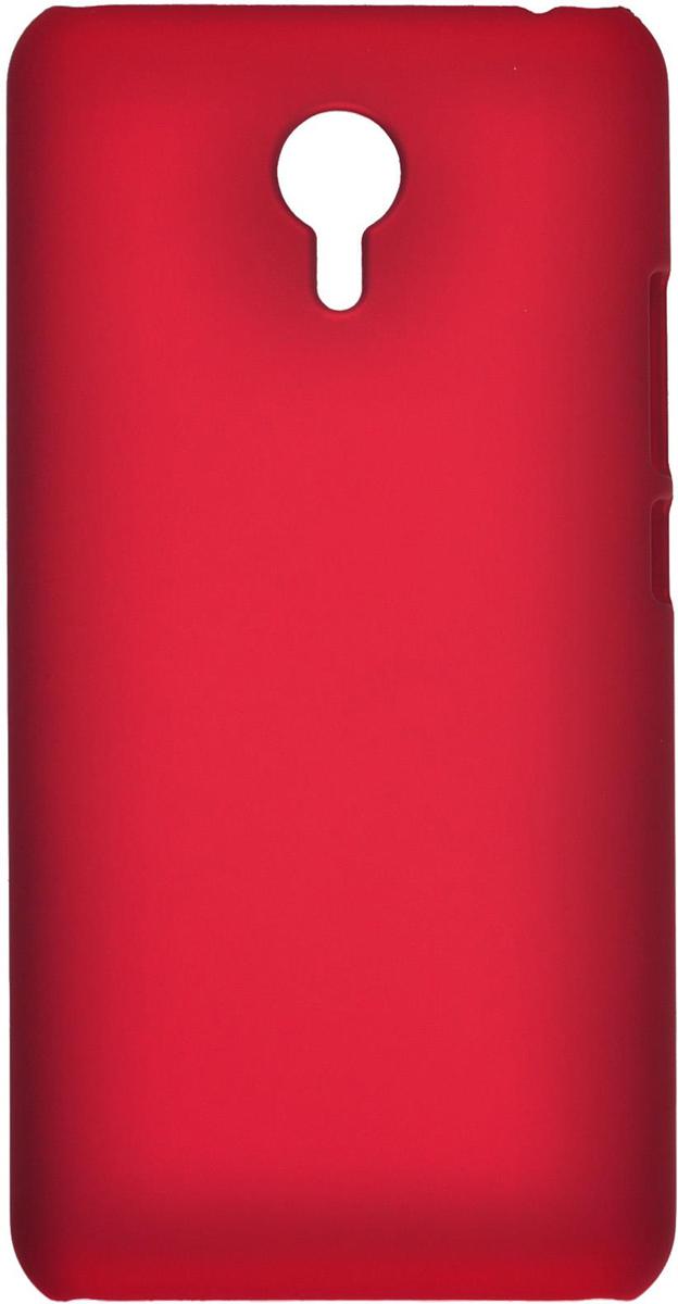 Skinbox 4People чехол для Meizu M2 Note, RedT-S-MM2N-002Чехол - накладка Skinbox 4People для Meizu M2 Note бережно и надежно защитит ваш смартфон от пыли, грязи, царапин и других повреждений. Чехол оставляет свободным доступ ко всем разъемам и кнопкам устройства. В комплект также входит защитная пленка на экран.