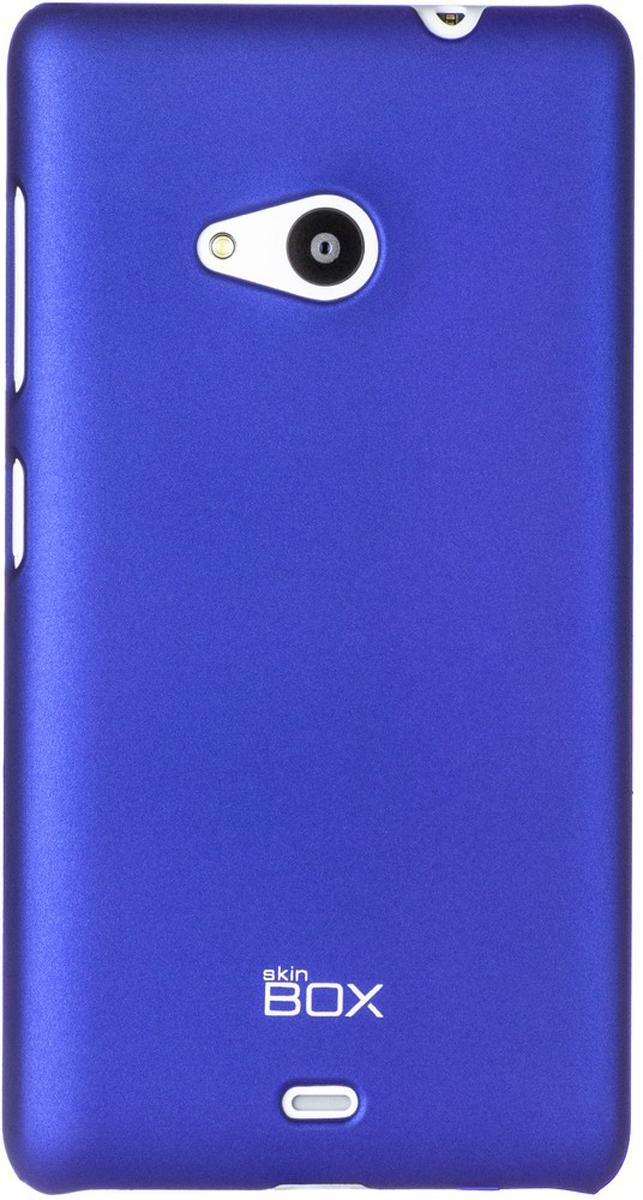 Skinbox 4People чехол для Microsoft Lumia 535, BlueT-S-ML535-002Чехол - накладка Skinbox 4People для Microsoft Lumia 535 бережно и надежно защитит ваш смартфон от пыли, грязи, царапин и других повреждений. Чехол оставляет свободным доступ ко всем разъемам и кнопкам устройства. В комплект также входит защитная пленка на экран.