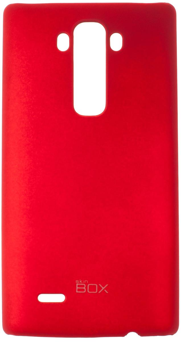 Skinbox 4People чехол для LG G Flex 2, RedT-S-LGF2-002Чехол - накладка Skinbox 4People для LG G Flex 2 бережно и надежно защитит ваш смартфон от пыли, грязи, царапин и других повреждений. Чехол оставляет свободным доступ ко всем разъемам и кнопкам устройства. В комплект также входит защитная пленка на экран.