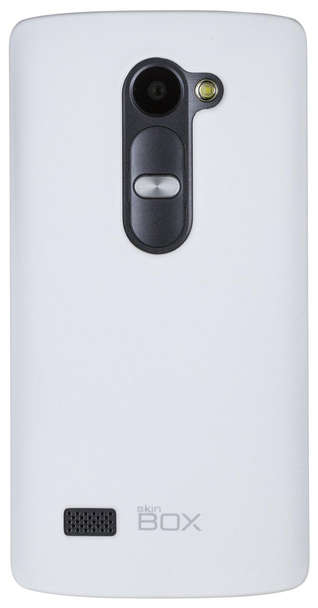 Skinbox Shield 4People чехол для LG Leon, WhiteT-S-LL-002Чехол - накладка Skinbox 4People для LG Leon бережно и надежно защитит ваш смартфон от пыли, грязи, царапин и других повреждений. Чехол оставляет свободным доступ ко всем разъемам и кнопкам устройства. В комплект также входит защитная пленка на экран.