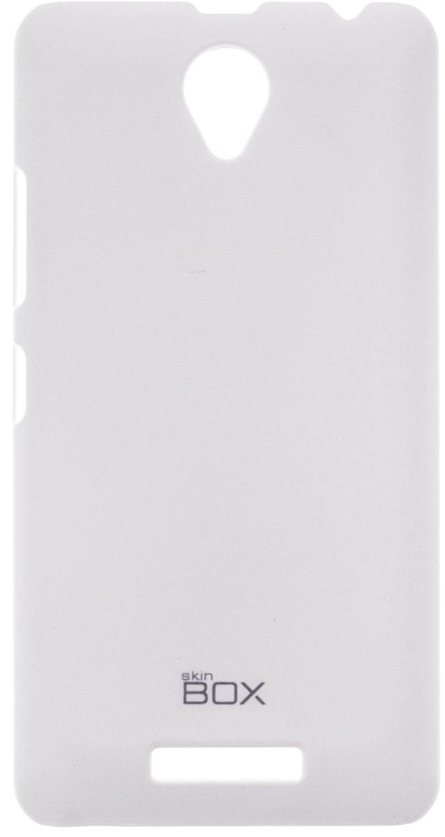 Skinbox 4People чехол для Lenovo A5000, WhiteP-S-LA5000-002Чехол-накладка Skinbox 4People для Lenovo A5000 бережно и надежно защитит ваш смартфон от пыли, грязи, царапин и других повреждений. Чехол оставляет свободным доступ ко всем разъемам и кнопкам устройства. В комплект также входит защитная пленка на экран.