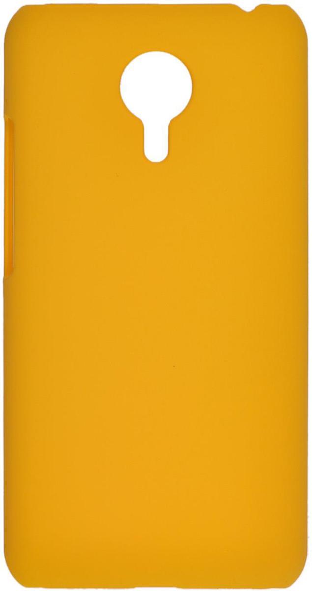 Skinbox 4People чехол для Meizu MX5, YellowT-S-MMX5-002Чехол - накладка Skinbox 4People для Meizu MX5 бережно и надежно защитит ваш смартфон от пыли, грязи, царапин и других повреждений. Чехол оставляет свободным доступ ко всем разъемам и кнопкам устройства. В комплект также входит защитная пленка на экран.