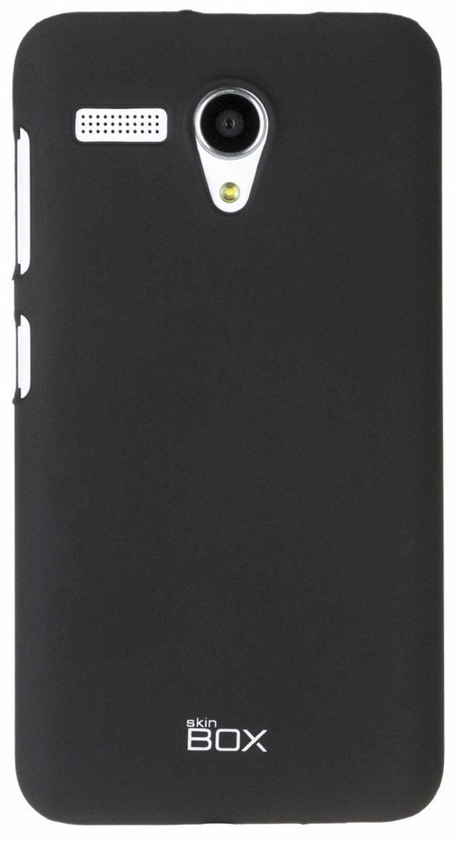 Skinbox 4People чехол для Lenovo A606, BlackT-S-LA606-002Чехол-накладка Skinbox 4People для Lenovo A606 бережно и надежно защитит ваш смартфон от пыли, грязи, царапин и других повреждений. Чехол оставляет свободным доступ ко всем разъемам и кнопкам устройства. В комплект также входит защитная пленка на экран.