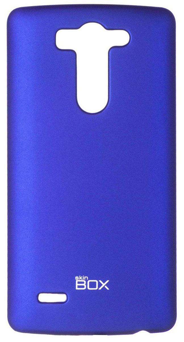 Skinbox 4People чехол для LG G3S, BlueT-S-LG3S-002Чехол - накладка Skinbox 4People для LG G3S бережно и надежно защитит ваш смартфон от пыли, грязи, царапин и других повреждений. Чехол оставляет свободным доступ ко всем разъемам и кнопкам устройства. В комплект также входит защитная пленка на экран.