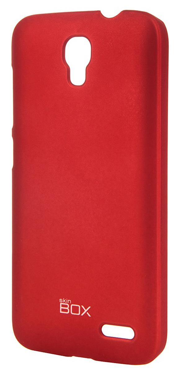 Skinbox 4People чехол для Alcatel OT-5042D Pop 2, RedT-S-A5042D-002Чехол - накладка Skinbox 4People для Alcatel OT-5042D Pop 2 бережно и надежно защитит ваш смартфон от пыли, грязи, царапин и других повреждений. Чехол оставляет свободным доступ ко всем разъемам и кнопкам устройства. В комплект также входит защитная пленка на экран.