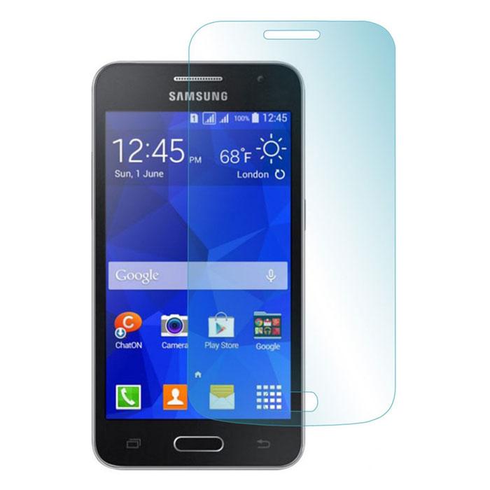 Skinbox защитное стекло для Samsung G350 Galaxy Star Advance, глянцевоеSP-101Защитное стекло Skinbox для Samsung Galaxy A3 предназначено для защиты поверхности экрана от царапин, потертостей, отпечатков пальцев и прочих следов механического воздействия. Оно имеет окаймляющую загнутую мембрану последнего поколения, а также олеофобное покрытие. Изделие изготовлено из закаленного стекла высшей категории, с высокой чувствительностью и сцеплением с экраном.