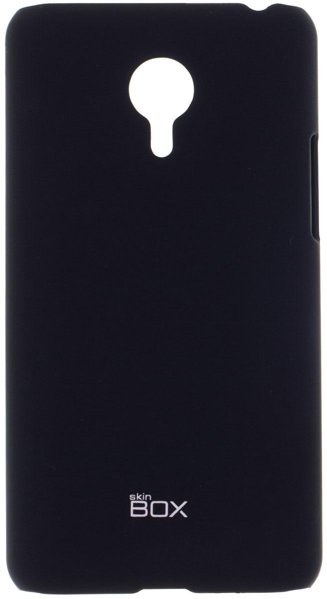 Skinbox 4People чехол для Meizu MX4 Pro, BlackT-S-MX4P-002Накладка Skinbox 4People для Meizu MX4 Pro выполнена из высококачественного поликарбоната. Она бережно и надежно защитит ваш смартфон от пыли, грязи, царапин и других повреждений. Чехол оставляет свободным доступ ко всем разъемам и кнопкам устройства.