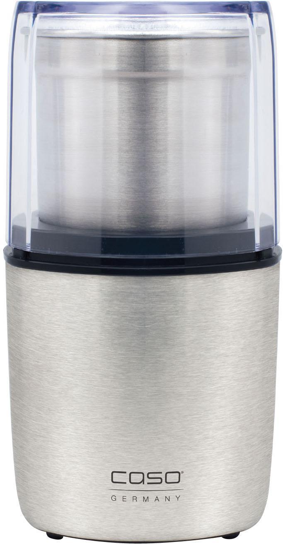 CASO Coffee Flavour кофемолкаCoffee FlavourПодходит для измельчения кофейных зёрен, орехов и специй; Прозрачная крышка и корпус из нержавеющей стали; Импульсная кнопка; Объем: до 90 гр; Мощность: 200 Вт