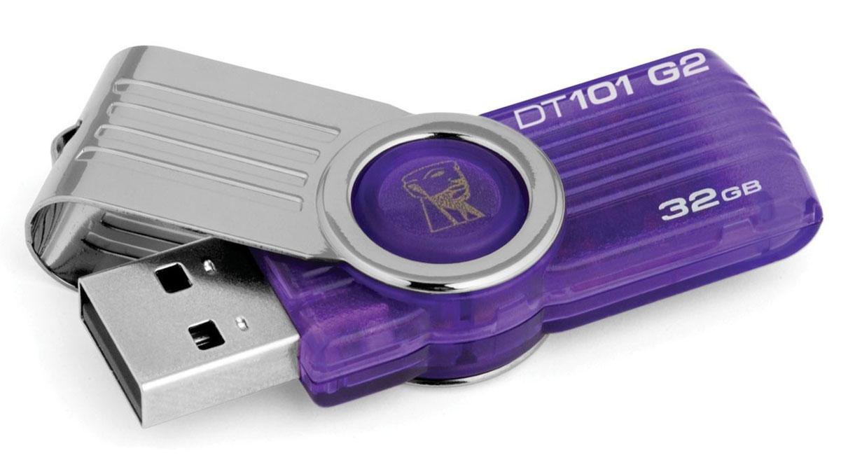Kingston DataTraveler 101 G2 32GB USB-накопительDT101G2/32GBС USB-накопителем Kingston DataTraveler 101 G2 пользователи, которые хотят сэкономить, получают множество полезных функциональных возможностей, большое пространство для хранения данных (до 128 ГБ), а также простое решение для хранения, переноса или передачи данных между компьютерами и другими устройствами. Kingston DataTraveler 101 G2 имеет поворотную конструкцию без колпачка. Накопители доступны в различных цветовых исполнениях, в зависимости от емкости. Они имеют пятилетнюю гарантию, бесплатную техническую поддержку и отличаются легендарной надежностью Kingston.