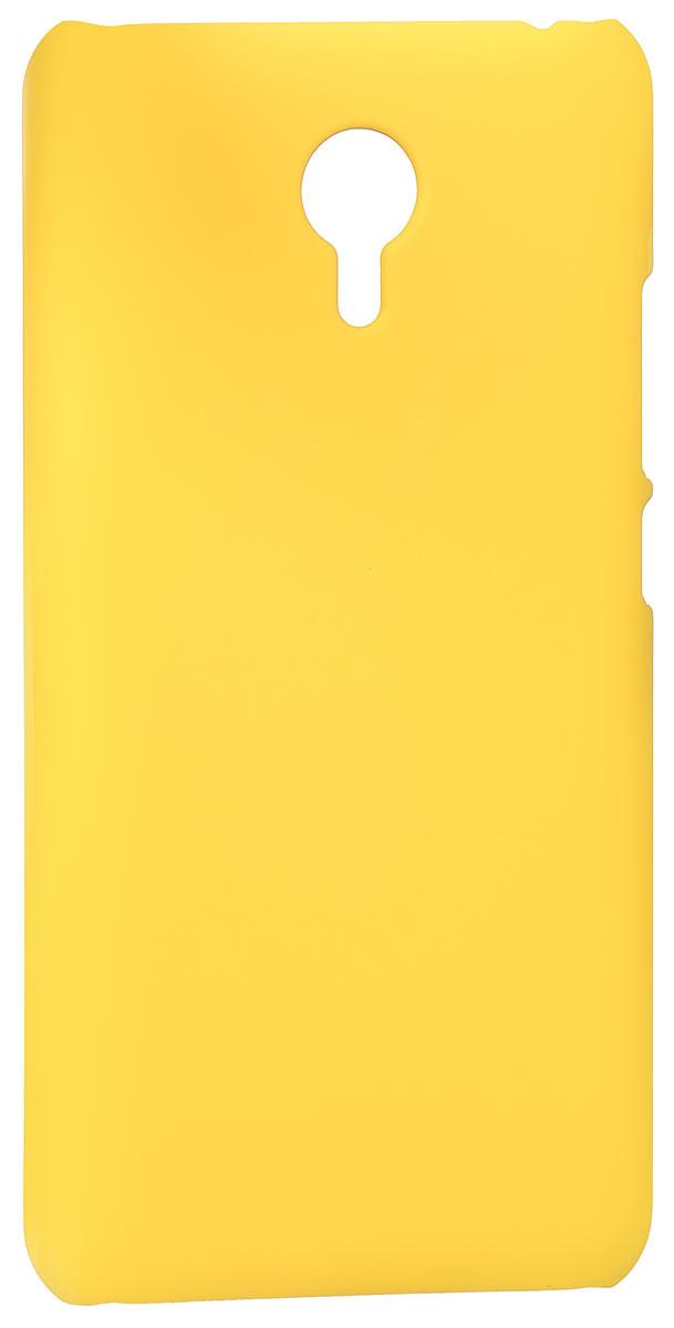 Skinbox 4People чехол для Meizu M2 Note, YellowT-S-MM2N-002Накладка Skinbox 4People для Meizu M2 Note выполнена из высококачественного поликарбоната. Она бережно и надежно защитит ваш смартфон от пыли, грязи, царапин и других повреждений. Чехол оставляет свободным доступ ко всем разъемам и кнопкам устройства.
