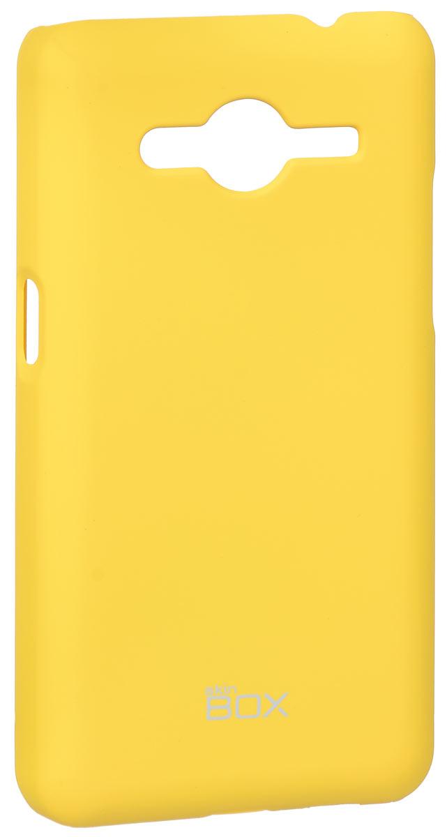Skinbox 4People чехол для Samsung G355 Galaxy Core 2, YellowT-S-SG355-002Накладка Skinbox 4People для Samsung G355 Galaxy Core 2 выполнена из высококачественного поликарбоната. Она бережно и надежно защитит ваш смартфон от пыли, грязи, царапин и других повреждений. Чехол оставляет свободным доступ ко всем разъемам и кнопкам устройства.