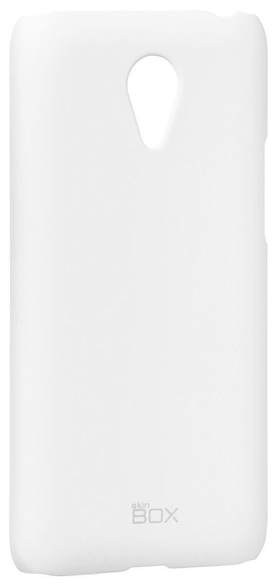Skinbox 4People чехол для Meizu M1 Note, WhiteT-S-MM1-002Накладка Skinbox 4People для Meizu M1 Note выполнена из высококачественного поликарбоната. Она бережно и надежно защитит ваш смартфон от пыли, грязи, царапин и других повреждений. Чехол оставляет свободным доступ ко всем разъемам и кнопкам устройства.