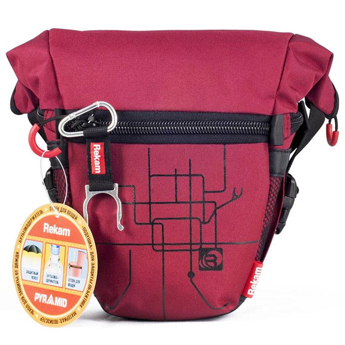 Rekam Pyramid RBX-51, Red сумка для фотокамеры