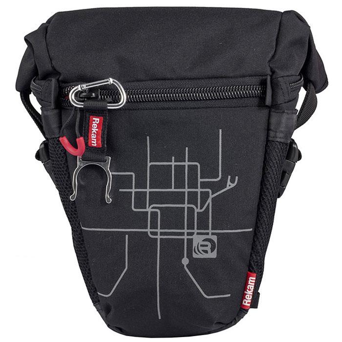 Rekam Pyramid RBX-53, Black сумка для фотокамеры