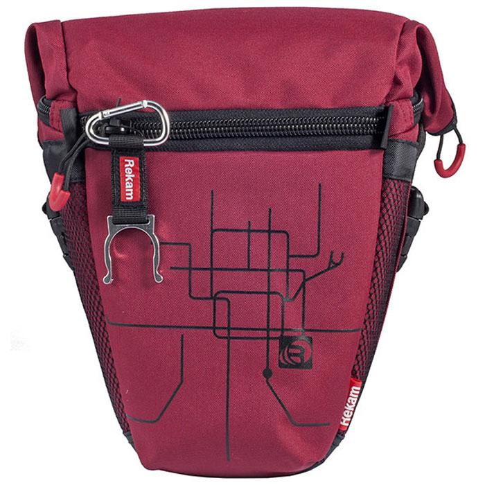 Rekam Pyramid RBX-53, Red сумка для фотокамеры