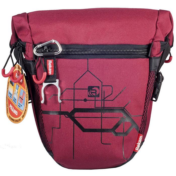 Rekam Pyramid RBX-55, Red сумка для фотокамеры