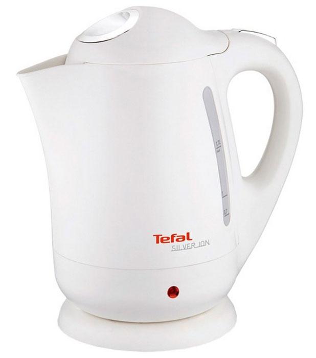 Tefal BF 9251 Silver Ion электрочайникBF 9251 Silver IonПри создании чайника Tefal BF 9251 Silver Ion объемом 1,7 литра была применена технология Microban, при которой ионы серебра интегрируются в пластиковый корпус устройства. Ионы серебра способствуют уничтожению бактерий в процессе кипячения воды, а также в течение 24 часов после использования чайника, что наделяет прибор антибактериальными свойствами. Нагревательный элемент Ultraclean встроен в дно чайника, что обеспечивает высокую скорость нагрева воды, возможность кипячения даже небольшого ее количества и уменьшение образования накипи. Благодаря тому, что нагревательный элемент отполирован, дно чайника остается гладким и блестящим даже после длительной эксплуатации. Для удобства в использовании чайник Tefal BF 9251 Silver Ion оснащен широко открывающейся откидной крышкой, нейлоновым фильтром, предотвращающим попадание в чашку частичек накипи, беспроводной подставкой с поворотом на 360 градусов, двухсторонней шкалой уровня воды и индикатором работы с подсветкой. В целях предотвращения...