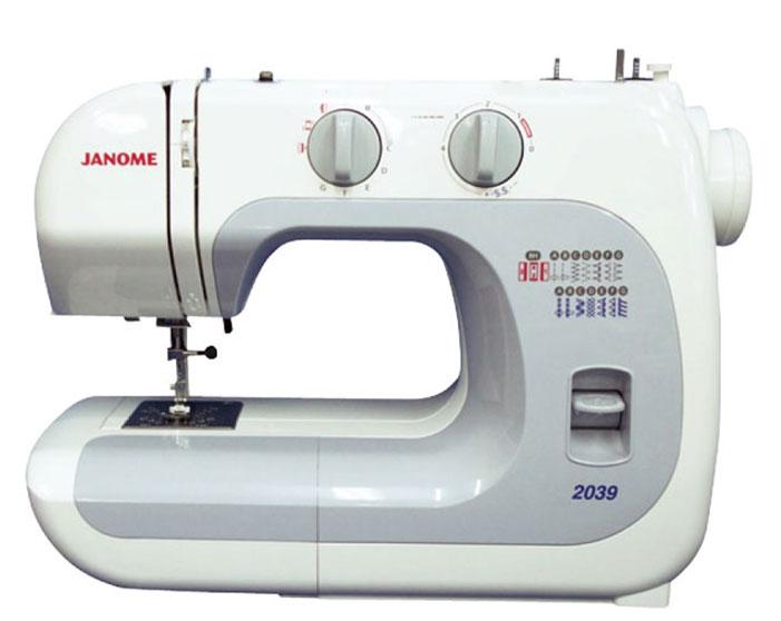 Janome 2039 швейная машина2039Швейная машинка Janome 2039 - удивительная электромеханическая модель, которая способна выполнять порядка 13 швейных операций (краеобметочная строчка, эластичный шов, зигзаг, квадратная петля, полуверный стежок, декоративная отделка и пр.). При помощи этой современной модификации пользователь сможет оперативно вшить молнию в тканое изделие, выполнить узкие подвернутые швы на воротничках и т.д. Для определенной цели следует использовать соответствующий тип лапки, которые поставляются в комплекте с данной машинкой. Японская швейная машина оснащена опцией free arm, что гарантирует максимальное удобство в обработке трубчатых деталей одежды (рукава, штанины), а также мелких тканых аксессуаров. На корпусе машины имеется удобнейшая ручка, облегчающая ее транспортировку. Практичный нитеобрезательный механизм, находящийся на боковой кромке Janome 2039, даст возможность швее обрезать нить за долю секунды по окончании выполнения строчки. Универсальная швейная машина имеет стальную...