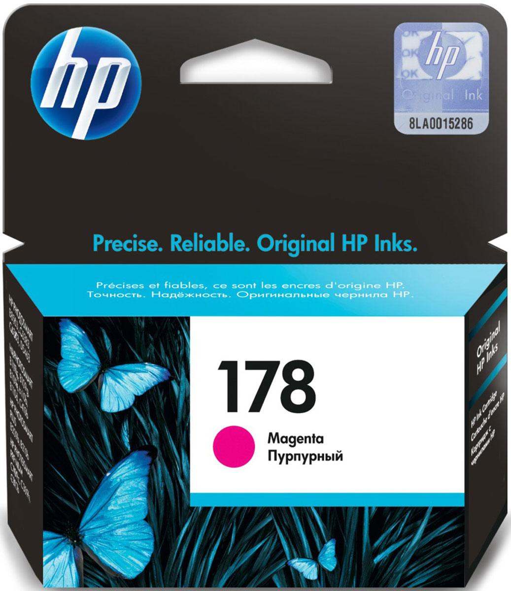 HP CB319HE (178), Magenta картридж для струйных МФУ/принтеровCB319HEКартридж HP 178 для струйных принтеров HP Photosmart