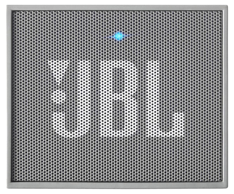 JBL GO, Gray портативная акустическая система*6925281903755Портативная акустическая система, 3 Вт , встроенный микрофон, прорезиненный ударопрочный корпус, Bluetooth, питание через порт USB или встроенную аккумуляторную батарею, 5 ч работы от батареи.