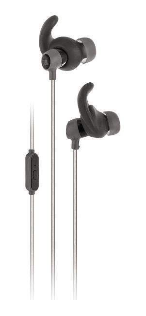 JBL Reflect Mini, Black наушники6925281907203Небольшой вес. Мощный звук. Никогда не выпадают из уха. С защитой от капель пота и обладающие уникальным светоотражающим дизайном внутриканальные наушники JBL Reflect Mini для занятий спортом созданы для того, чтобы поддержать вас даже во время самых интенсивных тренировок. Легендарный звук JBL из высококачественных динамических мембран 5,8 мм будет радовать вас в ходе занятий практически любым спортом — от бега до многочасовой качалки. Наушники JBL Reflect Mini обладают самой миниатюрной конструкцией среди продукции JBL – уже скоро вы забудете, что они на вас надеты. Наушники оснащены однокнопочным пультом управления с микрофоном, регулируемыми проводами с Y-образным соединением и угловым штекером, и вы можете быть уверены, что они станут для вас идеальным партнером для тренировок. Легковесная конструкция. Будучи самым легкими внутриканальными наушниками для занятий спортом, наушники Reflect Mini обеспечивают комфорт при занятиях самыми разными видами спорта....
