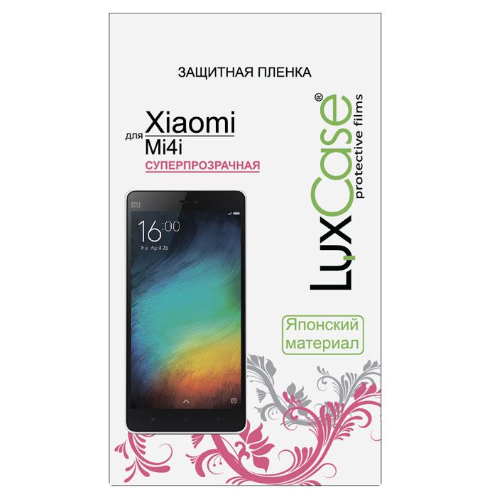 Luxcase защитная пленка для Xiaomi Mi4i, суперпрозрачная54812Защитная пленка Luxcase для Xiaomi Mi4i сохраняет экран смартфона гладким и предотвращает появление на нем царапин и потертостей. Структура пленки позволяет ей плотно удерживаться без помощи клеевых составов и выравнивать поверхность при небольших механических воздействиях. Пленка практически незаметна на экране смартфона и сохраняет все характеристики цветопередачи и чувствительности сенсора.
