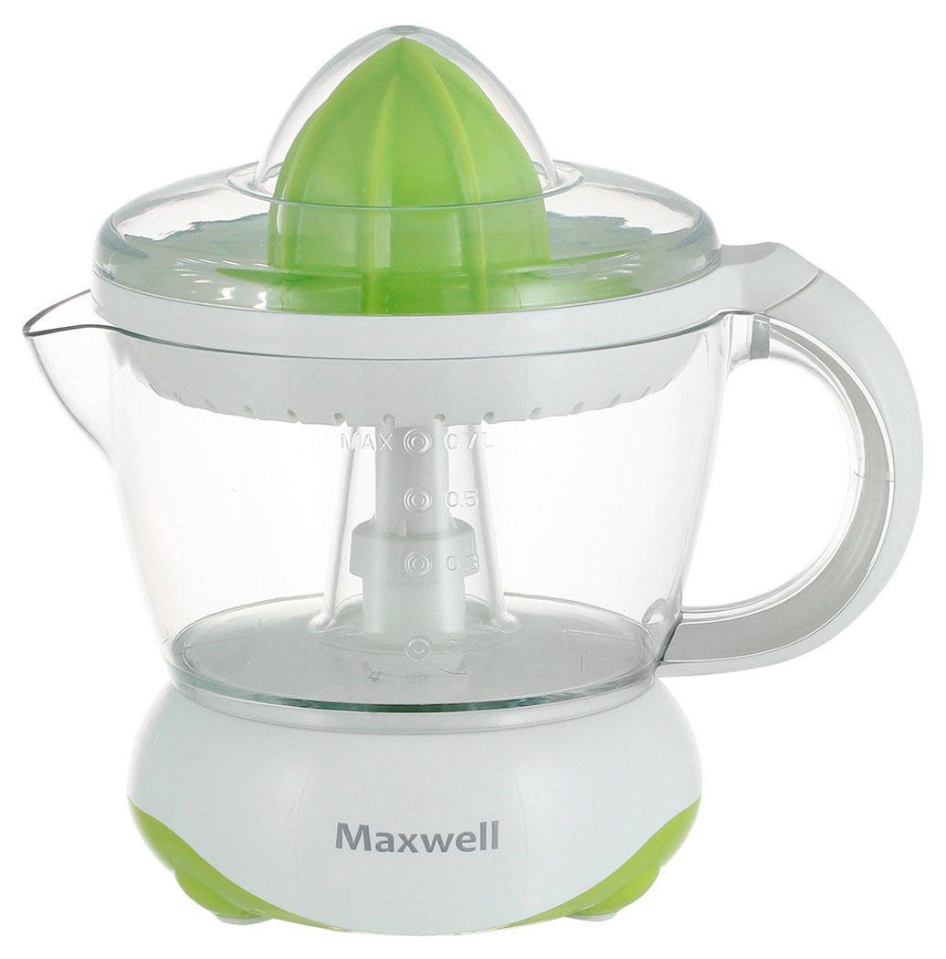 Maxwell MW-1107 соковыжималкаMW-11071107-MW(G) Соковыжималка Maxwell Максимальная мощность 25 Вт, емкость чаши для сока 0,5 л.