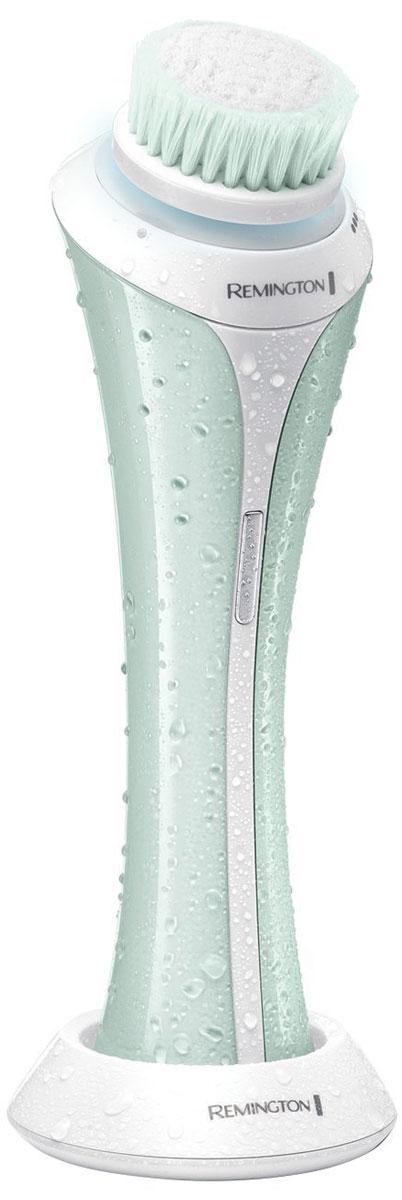 Remington FC1000 прибор для очистки лицаFC1000Приготовьтесь показать красоту вашей кожи с помощью щеточки для чистки лица Remington FC1000. Этот передовой прибор использует умную технологию очищения, чтобы сделать кожу здоровой и сияющей.Щеточка для лица Remington FC1000выполнена в компактном дизайне, благодаря чему ее удобно держать в руке и легко использовать. Вращающая в две стороны вибрирующая головка щеточки оптимизирует процесс очищения кожи. Кроме того, этот прибор оснащен минутным таймером, пульсирующим каждые 20 секунд, который подскажет вам, когда переходить к следующей зоне лица. Убедитесь, что вы полностью контролируете процесс очищения, выбрав один из трех скоростных режимов.После одной подзарядки вы сможете использовать щеточку для лица до 30 раз. С помощью влагостойкого, моющегося корпуса, вы сможете легко поддерживать прибор в чистоте. Благодаря этой инновационной, простой в использовании щеточке для лица, состояние вашей кожи будет улучшаться с каждым днем.Вращающаяся в две стороны, вибрирующая головкаВлагостойкий и моющийся продуктСветодиодная подсветкаСветодиодный индикатор зарядки3 скорости чисткиМинутный таймер с легкой пульсацией каждые 20 секундДо 30 использований от одной зарядкиАвтоматический выбор напряжения в сети