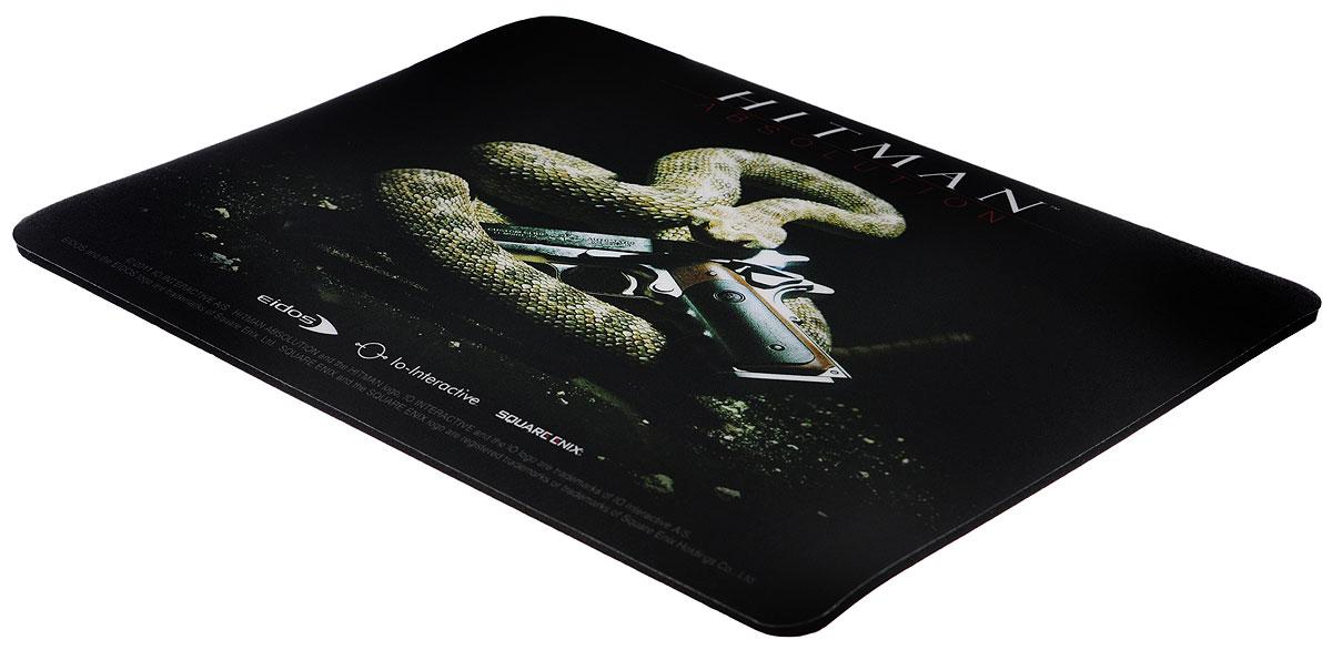 Hitman Absolution, Black коврик для мышиCUCOSКоврик для мыши Hitman Absolution - идеальный сувенир для тех, кто привык считать, что надежное значит проверенное годами. Для производства ковриков используется вспененный ПВХ черного цвета с эффектом прилипания к столу. Толщина основы - 3,5 мм. На верхнюю часть наносится полноцветное изображение, отпечатанное с полиграфическим качеством. Устойчивость изображения обеспечивается защитным пластифицированным покрытием. Даже если на поверхность случайно пролить горячий или холодный напиток, изображение не повредится.