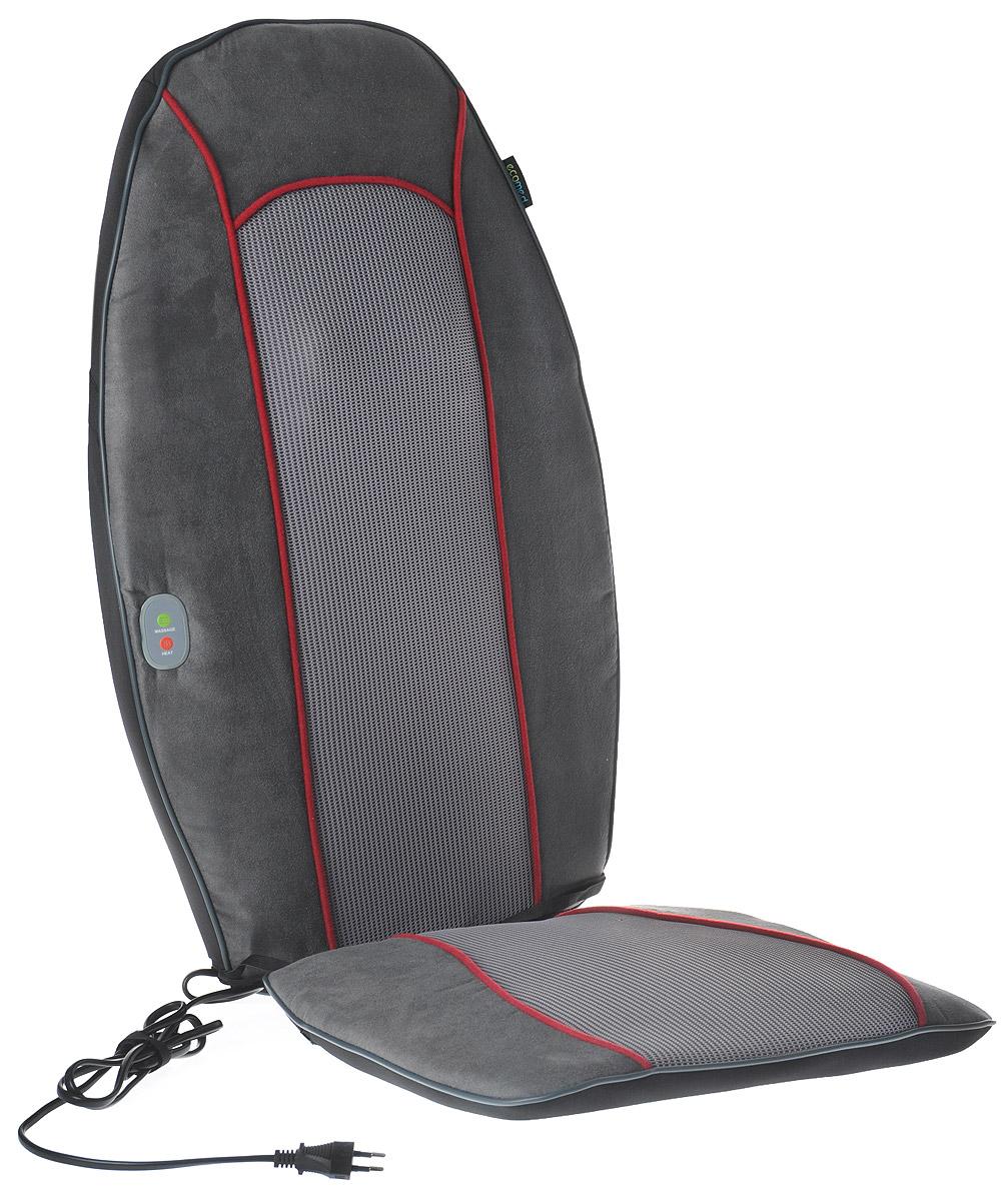 Ecomed Сиденье массажное МС-90E, красная полоса00001168,23306Увеличение общего тонуса организма