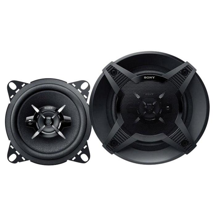Sony XS-FB1030 колонки автомобильныеXSFB1030.USony XS-FB1030 - 3-полосная коаксиальная акустическая система для вашего авто. Эти мощные и компактные колонки обеспечат качественный звук по приемлемой цене. Конусный НЧ-динамик с диффузором из целлюлозы, усиленной слюдой (MRC), купольный ВЧ-динамик и динамик ультравысоких частот вместе создают чистое, сбалансированное звучание по всему частотному диапазону. А небольшой размер заметно упрощает установку. Материал диффузора ВЧ-динамика: PEI Материал диффузора НЧ-динамика: прорезиненная ткань Материал магнита ВЧ-динамика: неодим Материал магнита НЧ-динамика: феррит