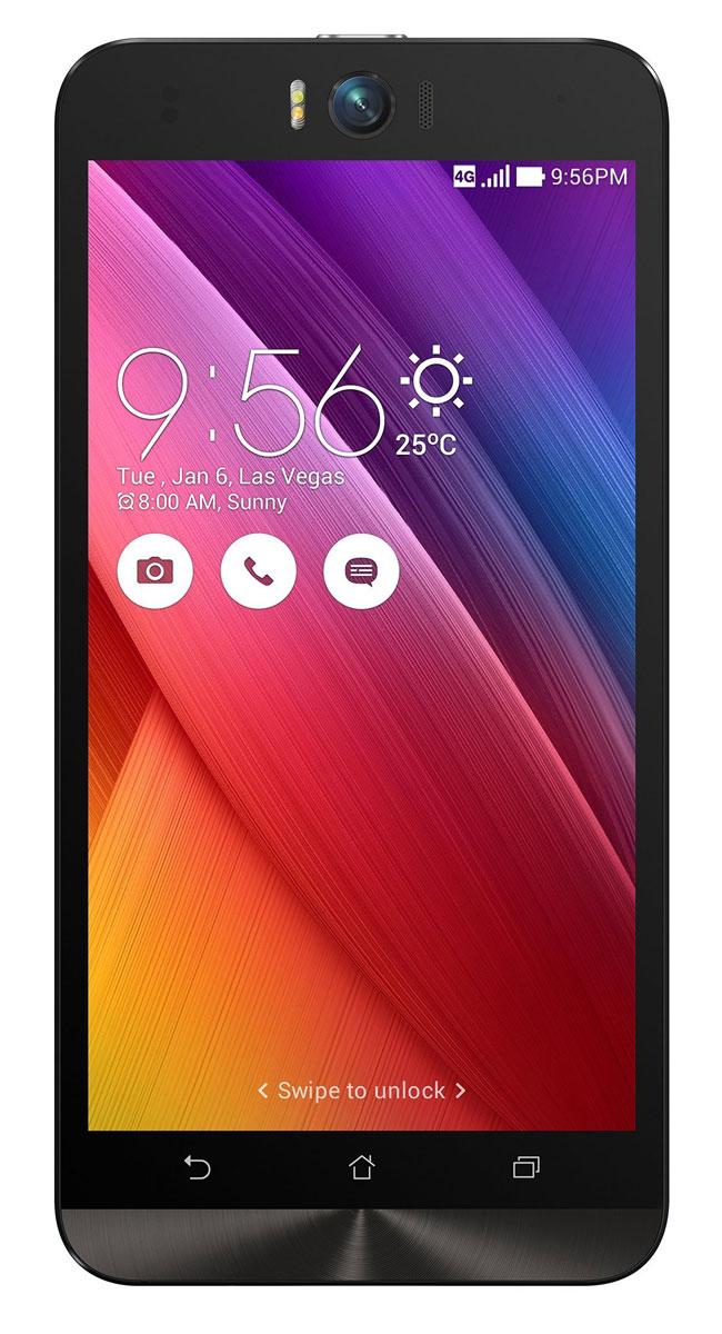ASUS ZenFone Selfie ZD551KL (16GB), White (90AZ00U2-M01240)90AZ00U2-M01240Asus Zenfone Selfie ZD551KL - инновационное сочетание современных технологий, модных трендов и безупречного качества изготовления. В этом смартфоне есть все, чтобы увидеть себя в самом лучшем свете - две отличные камеры с множеством специальных режимов съемки, удобный интерфейс ZenUI и высококачественный экран. Отличительной особенностью смартфона ZenFone Selfie является высококачественная фронтальная камера с технологией PixelMaster, разрешением 13 мегапикселей, большой диафрагмой (F/2,2) и 88-градусным объективом, причем в режиме панорамных селфи она дает возможность снимать фотографии, охватывающие угол до 140 градусов. И фронтальная, и тыловая камеры смартфона оснащены двухцветной светодиодной вспышкой. В обоих применены современные компоненты от Largan и Toshiba, а в тыловой также реализована высокоскоростная система лазерной автофокусировки. Благодаря поддержке системы жестового управления ZenMotion, для перевода смартфона ZenFone Selfie в ...