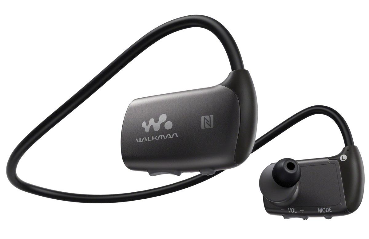 Sony NWZ-WS613 4Gb, Black MP3-плеер4905524980646Sony NWZ-WS613 - водостойкий универсальный Walkman со встроенной памятью 4 ГБ, NFC, Bluetooth, SoundMix и пультом ДУ. Теперь с любимой музыкой можно окунуться или поплавать. Этот Walkman обладает водостойкостью на глубине до 2-х метров, что позволяет ему выдерживать не только брызги воды. Сохраните плейлист для занятий спортом на Walkman и тренируйтесь в бассейне под любимую музыку. Данная модель может работать в воде на протяжении 30 минут. Для использования плеера в воде необходимо также использовать вкладыши для плавания. Благодаря технологии NFC (Near Field Communication) больше не нужны ни провода, ни сложные подключения. Достаточно приложить смартфон или другое NFC-совместимое устройство к N-метке на корпусе, и сразу же начнется воспроизведения музыки. Нет NFC? Ничего страшного. Сопряжение можно также установить вручную в разделе настроек Bluetooth. Удобное управление музыкой в любой ситуации и при любой погоде благодаря...