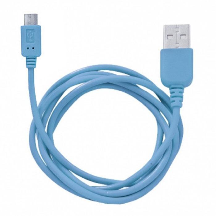 Human Friends Rainbow M, Blue micro-USB кабельRainbow M BlueHuman Friends Rainbow - кабель для соединения micro USB-устройств c USB-портом. Он может использоваться для передачи данных, зарядки аккумулятора и адаптирован для работы со всеми операционными системами. Главное достоинство Rainbow - в его внешнем виде. Он выгодно отличается от привычных и скучных расцветок стандартных кабелей. Кабель упакован в очень удобный и компактный пакет-чехол с многоразовой системой открывания-закрывания.