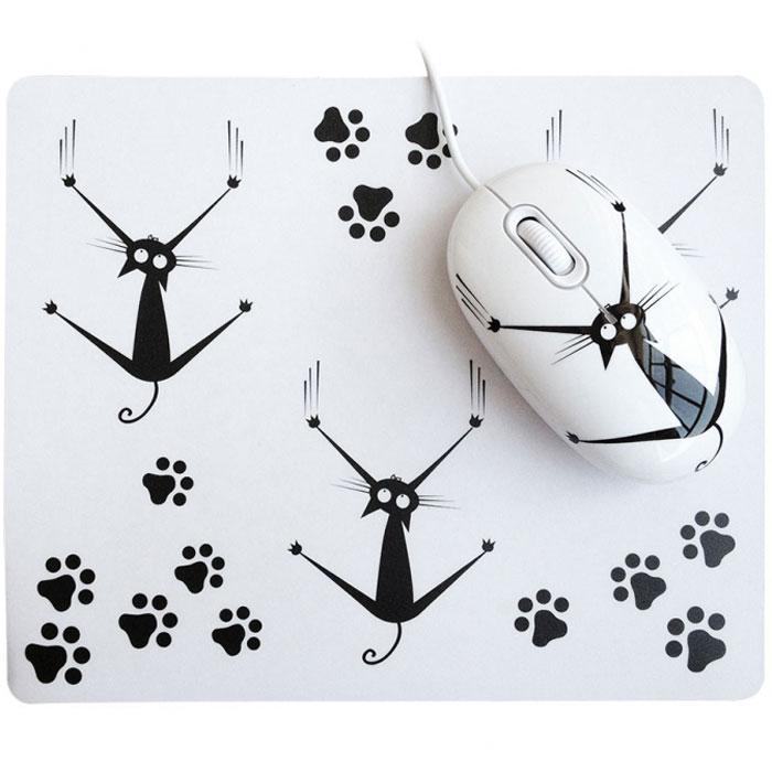 CBR Crazy Cat мышь + коврик