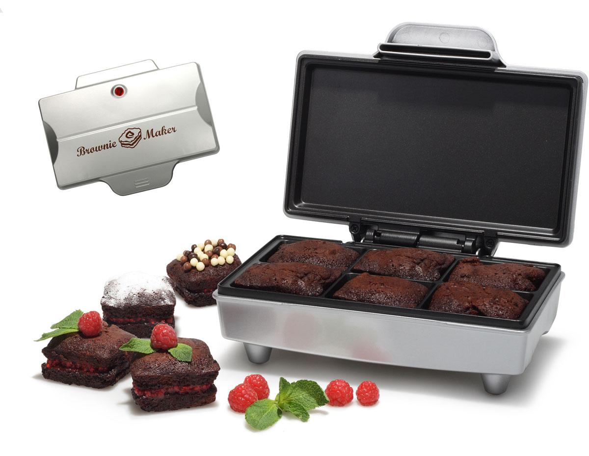 Tristar SA-1125 браунимейкерSA-1125Аппарат для приготовления пирожных и кексов Tristar SA-1125 - простое и полезное устройство, которое позволит вам легко и быстро готовить разнообразные пирожные, кексы или омлеты в домашних условиях. Прибор рассчитан на 6 пирожных или кексов за одну сессию. Благодаря мощности модели в 800 Вт процесс приготовления занимает минимум времени. Прибор имеет прочный термостойкий корпус. Рабочая поверхность пластин имеет антипригарное покрытие, которое легко чистится и предотвращает пригорание. Индикатор нагрева и индикатор готовности Вместимость: 6 штук Нескользящие ножки для дополнительной устойчивости на поверхности В комплекте шпатель для равномерного распределения ингредиентов