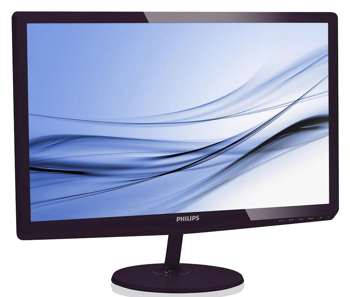 Philips 247E6QDAD (00/01), Black монитор247E6QDAD (00/01)Великолепный дисплей Philips 247E6QDAD обеспечивает потрясающее качество изображения, а изящный дизайн идеально дополнит и оживит интерьер любого дома или офиса. Технология IPS-ADS с широким углом обзора для точной передачи цветов и изображений: В IPS-ADS-дисплеях используется прогрессивная технология, обеспечивающая широкий угол обзора 178/178 градусов для просмотра дисплея практически под любым углом. По сравнению со стандартными TN-панелями IPS-ADS-дисплеи обеспечивают значительно более высокую четкость изображения и яркие цвета, что делает их идеальным решением не только для просмотра фотографий, фильмов и веб-сайтов, но также и для работы в профессиональных приложениях, где требуется точная передача цвета и яркости. Дисплей 16:9 Full HD для четкого и детального изображения: ЖК-дисплей Full HD имеет разрешение 1920x1080р — самое высокое из всех разрешений HD-источников, обеспечивающее изображение наилучшего качества. Это настоящий...
