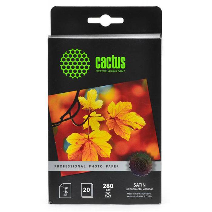 Cactus CS-SMA628020 Professional шелковисто-матовая фотобумагаCS-SMA628020Шелковисто-матовая фотобумага Cactus CS-SMA628020 Professional.Шелковисто-матовая бумага или Сатин - это фотобумага уровня премиум, которая наиболее похожа на привычные нам распечатки из фотолабораторий. Произведенная на высокотехнической полимерной основе, она полностью влагонепроницаема. Сатин от Cactus обладает зернистой текстурой и оригинальным шелковым блеском, где каждое зерно играет лучах света и улучшает ваши памятные фотографии