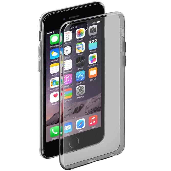 Deppa Gel Case чехол для Apple iPhone 6/6s, Clear Black85203Чехол Deppa Gel Case для Apple iPhone 6/6s предназначен для защиты корпуса смартфона от механических повреждений и царапин в процессе эксплуатации. Имеется свободный доступ ко всем разъемам и кнопкам устройства. Чехол изготовлен из TPU производства Bayer и имеет толщину 0,7 мм.