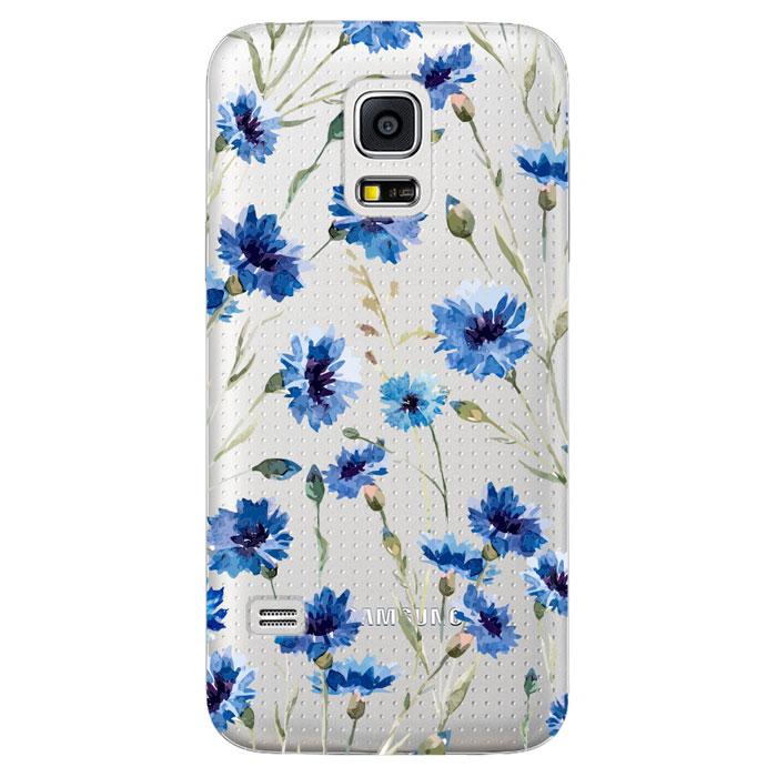 Deppa Art Case чехол для Samsung Galaxy S5 mini, Flowers (василек)100112Чехол Deppa Art Case для Samsung Galaxy S5 mini предназначен для защиты корпуса смартфона от механических повреждений и царапин в процессе эксплуатации. Имеется свободный доступ ко всем разъемам и кнопкам устройства. Чехол изготовлен из поликарбоната толщиной 1 мм и оформлен принтом с изображением василька.
